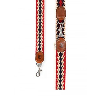 Hundeleine Peruvian Arrow Red 2m adjustable
